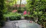 townhouse, brownstone, upscale, contemporary, staircase, fireplace, garden,