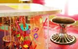 apartment, colorful, eclectic, funky, contemporary,